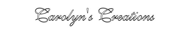 Carolyn's Creations Logo